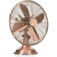 Glossy copper VE5970 table fan