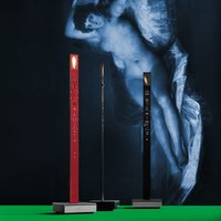 My New Flame   innovative LED table lamp black