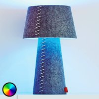 Colour changing LED table lamp Alice felt