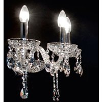 Exquisite crystal wall light Oldies But Goldies