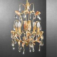 MESSINA striking chandelier glass