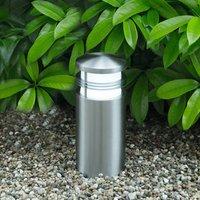 Creo pillar light made of V4A stainless steel