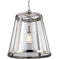 With chain suspension   hanging lamp Harrow