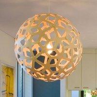 david trubridge Coral hanging lamp   60 cm natural