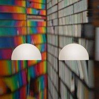 Double bulb pendant light BOWL 26 cm