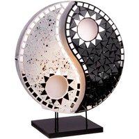 Beautiful design table lamp Ying Yang black white