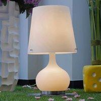Table lamp Ade white 58 cm