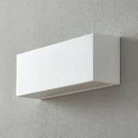 BEGA 50147 wall lamp DALI 32 cm velvet white