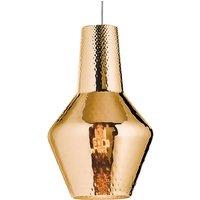Romeo hanging light 130 cm metallic antique gold