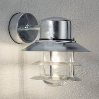 Hot dipped outdoor wall lamp Blokhus  suspended