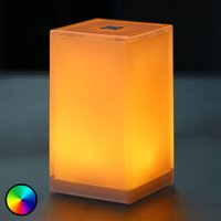 Portable Cub table lamp  app controllable  RGBW