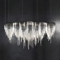 Volver   exclusive LED hanging light  elongated