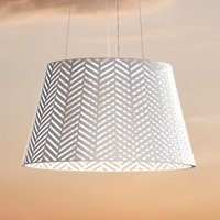Spike LED pendant light for indoors and outdoors