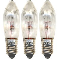 Ersatzlampe E10 3W 3er Pack