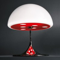 Martinelli Luce Mico   table lamp  60 cm  red