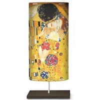 Art motif on the floor lamp Klimt III