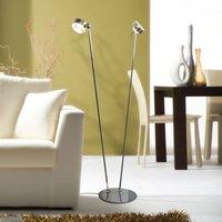 Versatile flexible floor lamp PUK FLOOR chrome