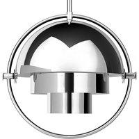 GUBI Multi Lite hanging lamp 25 5 cm chrome chrome