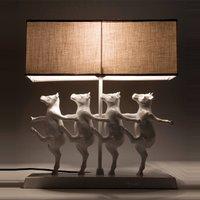 KARE Dancing Cows   funny table lamp
