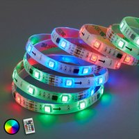 With 164 light functions   500 cm Mo RGB LED strip