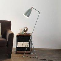 GUBI Gr shoppa tripod floor lamp  blue grey