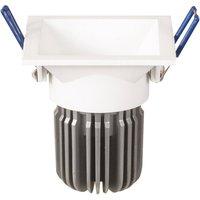 Toodle LED downlight angular symmetrical  white