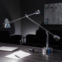Tecnolumen Buquet LED table lamp  silver plated