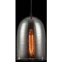 Bergen glass pendant light  rain effect   17 5 cm