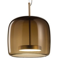 Jube SP 1 P pendant lamp made of glass  brown