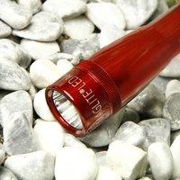Mini Maglite   red LED torch