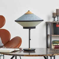 Forestier Cymbal S table lamp  Atlantic blue