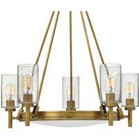 Fife bulb Collier chandelier