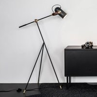 LE KLINT Carronade low   floor lamp  black