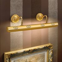 Henrika   gold plate picture light with d cor