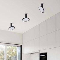 Morgan LED ceiling light  movable  black