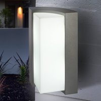 TIRANO modern outdoor wall light with LEDs  anthr