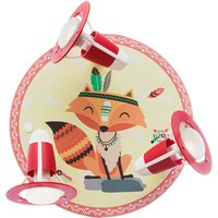 Little Indians wall lamp Filip Fox  yellow red