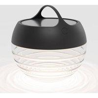 IP44 de aqu S LED solar light  height 23 cm black