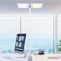 Regent Lighting Lightpad 2 bulb silver base centre