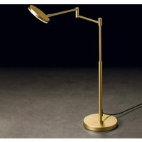 Holtk tter Plano T LED table lamp anodised brass