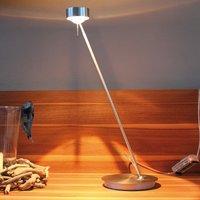 Dimmable table lamp PUK TABLE  matt chrome