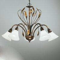 Five bulb elegant hanging light CAMPANA