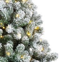 Imperial LED tree for indoors  green white  180 cm