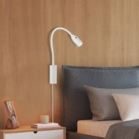 Sten LED wall light with gesture control  white