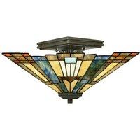 Semi flush ceiling light Inglenook