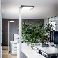 Luctra Vitawork LED office floor lamp 7000 lm PIR