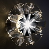 Designer wall light Flamenca with touch switch