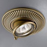 KOLARZ Milord recessed light, antique brass