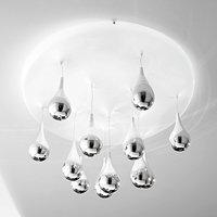 Ceiling light Pioggia diameter 70 cm  height 35 cm