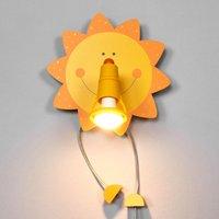 Funny Sun wall light